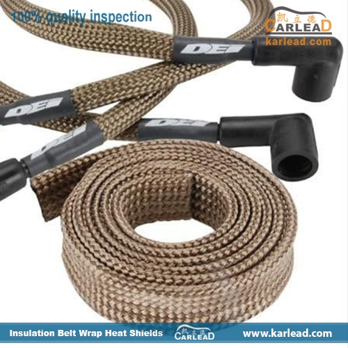 Basalt Exhaust Wrap Header Pipe Heat Belt